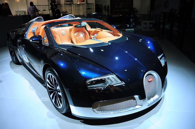 Show me a bugatti car