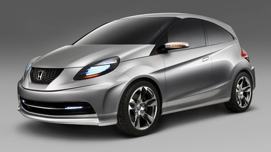 Honda New Small Concept For India 2010 News