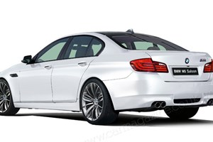 BMW M5: the new F10 super saloon from Munich
