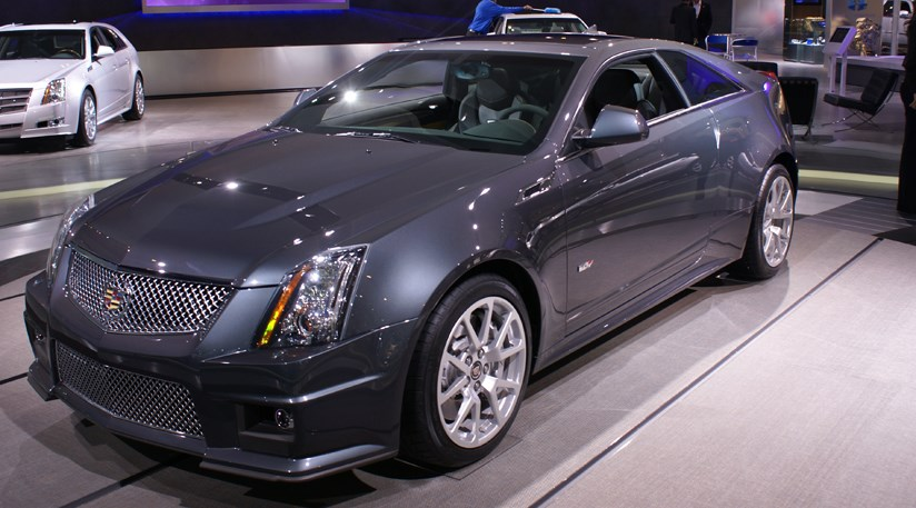 cadillac cts v coup at detroit motor show 2010 by car. Black Bedroom Furniture Sets. Home Design Ideas