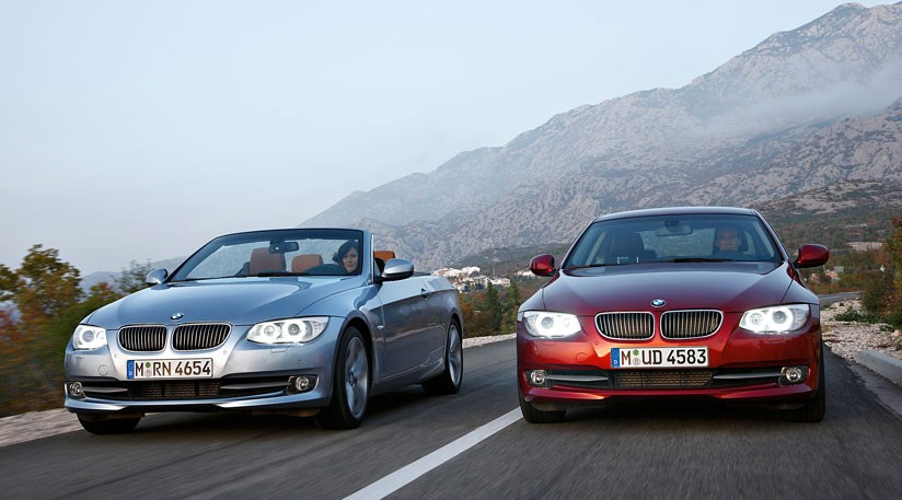 Bmw 3 Series Coupe And Convertible Facelift 2010 First Official