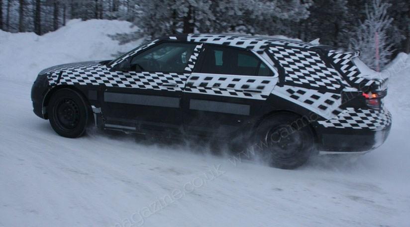 Saab 9 5 Estate 2011 Testing In Scandinavia The Past Few Days