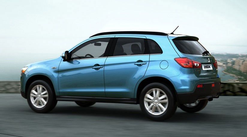 Mitsubishi Asx The New Compact Crossover Arriving In Spring 2010 S Is Based On A Anese Market Suv
