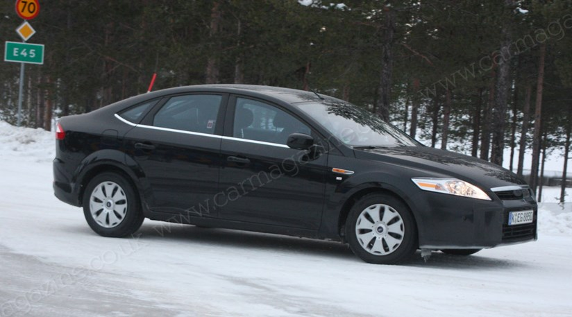 ford mondeo facelift 2010 spied testing by car magazine. Black Bedroom Furniture Sets. Home Design Ideas