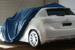Lexus LF-Ch (2010): spy photos of the new Lexus 1-series rival