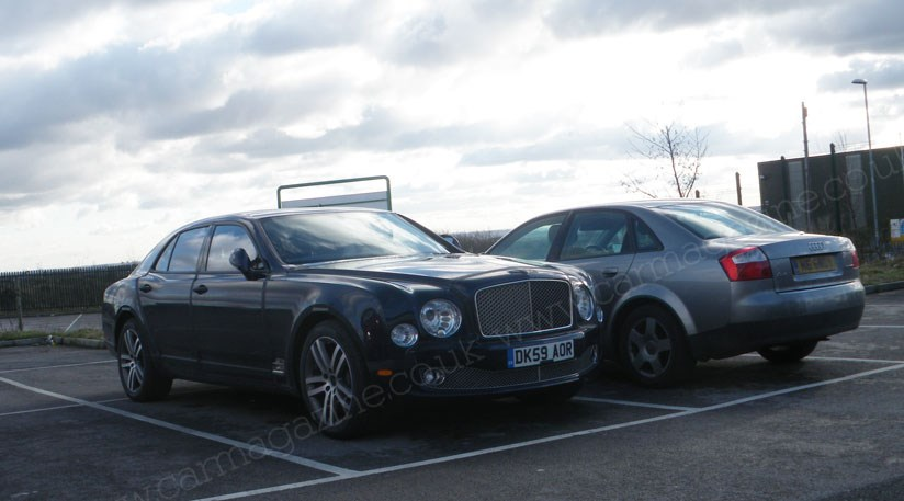 Bentley Mulsanne 2010 scooped by a reader by CAR Magazine