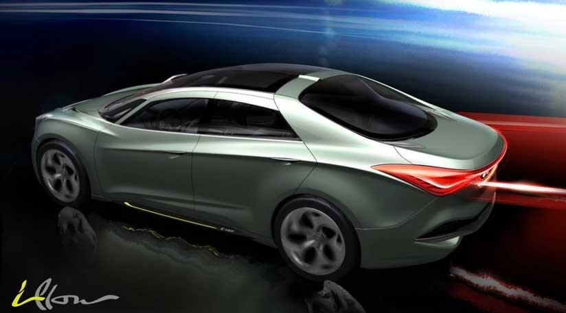 Hyundai I Flow Concept Previews 2011 I40 Car Magazine