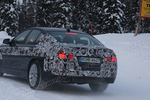 If you go down to the woods today... BMW's new 2011 M5 might be there