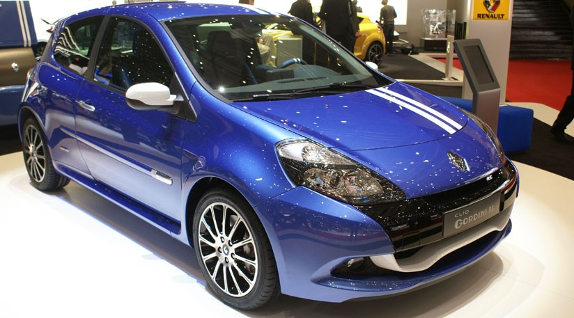 renault clio gordini rs megane gt at geneva motor show by car magazine. Black Bedroom Furniture Sets. Home Design Ideas