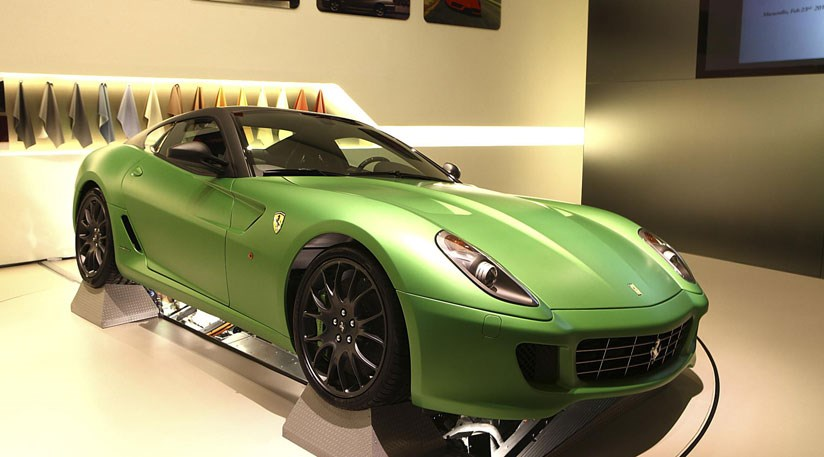 2010 Ferrari 599 Gtb Hy Kers Concept. Ferrari HY-KERS hybrid (2010)
