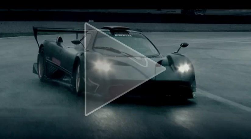 Pagani Zonda R (2010) official promo video   CAR Magazine