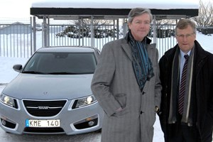 Victor Muller (left) and Jan Åke Jonsson: the new men running Saab