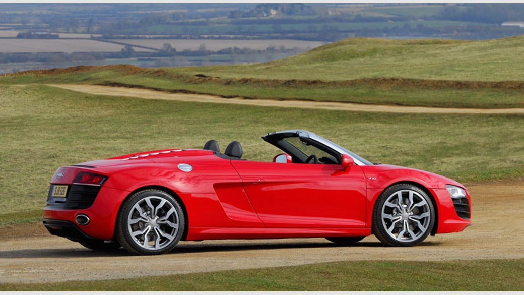 Audi R V Spyder Review CAR Magazine - Audi r8 v10 spyder