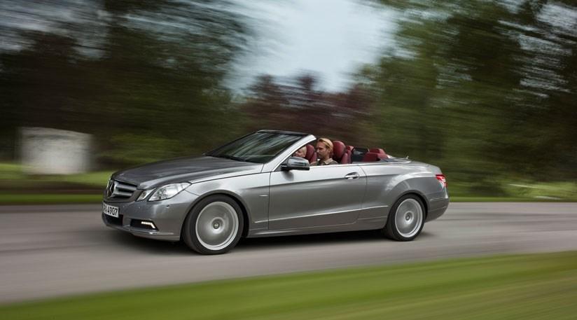 Mercedes Benz E250 Convertible. Mercedes E-class coupe (2009):