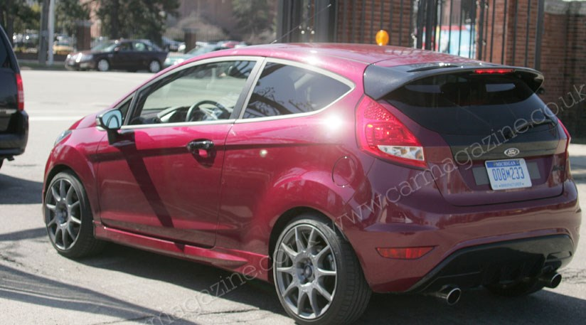 ford fiesta st 2011 the new car spy photos car magazine. Black Bedroom Furniture Sets. Home Design Ideas