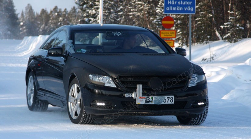 A New Name For The Mercedes Cl Facelifted Car Will Be Called S Coupé Modest Facelift