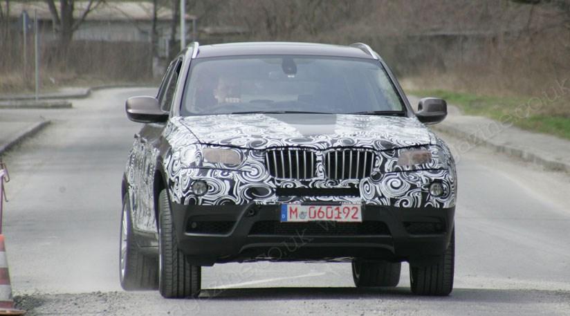 BMW X3 (2011) Reader Spy Shots And Scoop Video