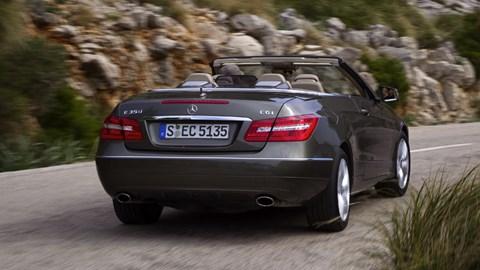 Mercedes E250 CGI Cabriolet (2010) review   CAR Magazine