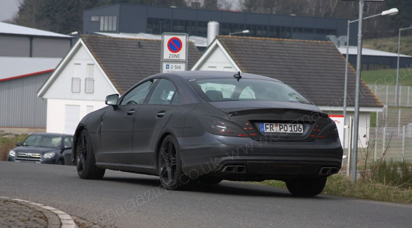 Mercedes CLS 63 AMG 2011 scooped again by CAR Magazine