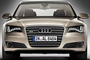 The new Audi A8 L W12. Tick all the options boxes, hold on tight