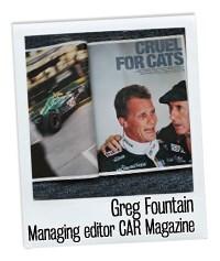 Greg Fountain and Jaguar