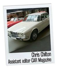 Jaguar and me - Chris Chilton