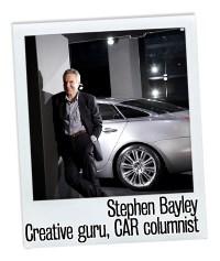 Stephen Bayley and Jagaur