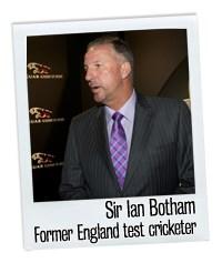 Sir Ian Botham and Jaguar