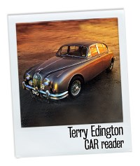 Terry Edington Jaguar and me