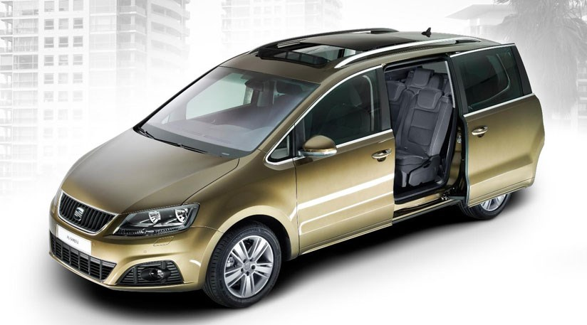 Seat Alhambra (2010): Spain's New Full Size MPV