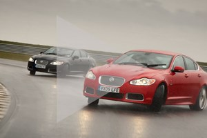 Jaguar XFR (2010) video: a brilliant drift car