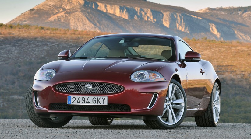 ... Front End Styling Tweaks To Revised Jag XK Are Subtle. Those Chromed  Inlets In The Spoiler Are Most Obvious ...