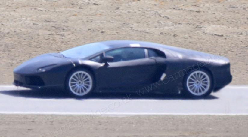Lamborghini Murcielago spy shots