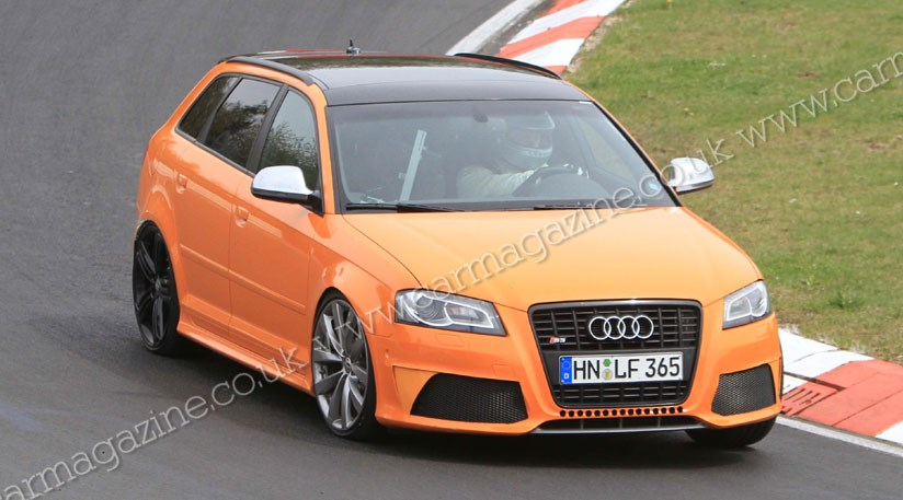 audi rs3 caught at the 39 ring next a3 cabriolet coming to north america. Black Bedroom Furniture Sets. Home Design Ideas