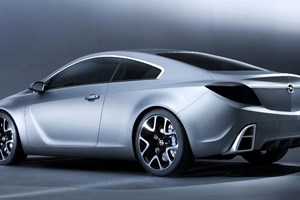 The original 2007 Opel GTC concept car