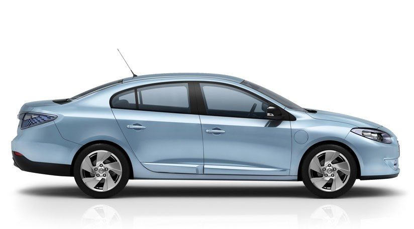 Renault Fluence ZE electric car (2012) prototype review ...