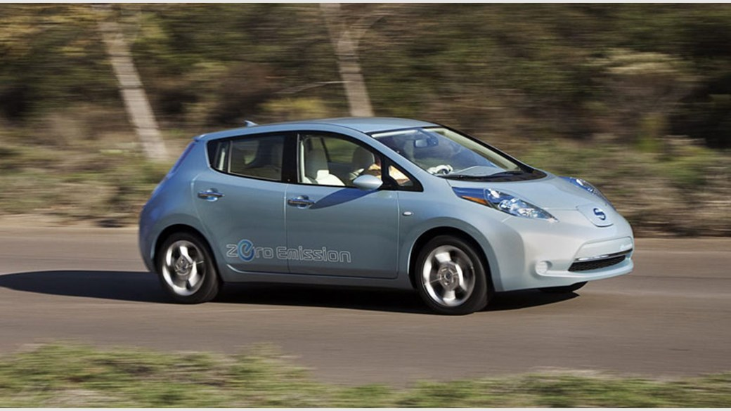 Nissan Leaf 2010 Electric Prototype Review