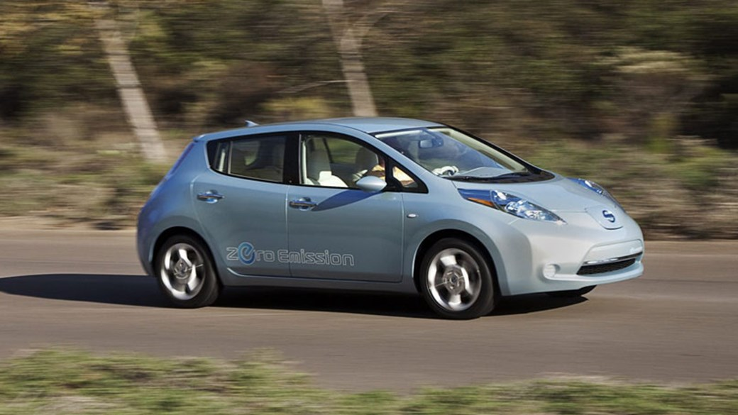 Nissan Leaf (2010) Electric Prototype Review