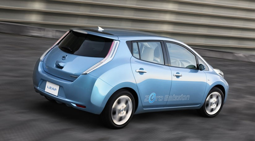 nissan leaf 2010 electric prototype review by car magazine. Black Bedroom Furniture Sets. Home Design Ideas
