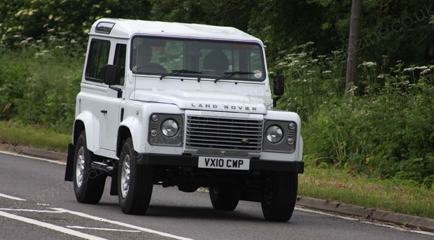 Land Rover Defender 2011 Scooped By Car Magazine