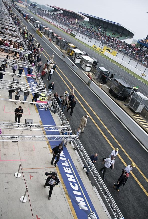 Le Mans 2010 Race start