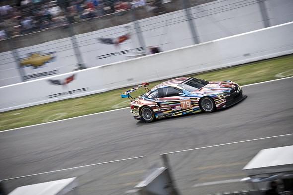 BMW Art car at Le Mans 2010
