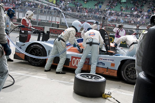 AAA access at Le mans 2010
