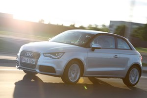 It's the Audi A1 you're going to see plenty of: the boggo 1.2 TFSI. Not an S line badge in sight