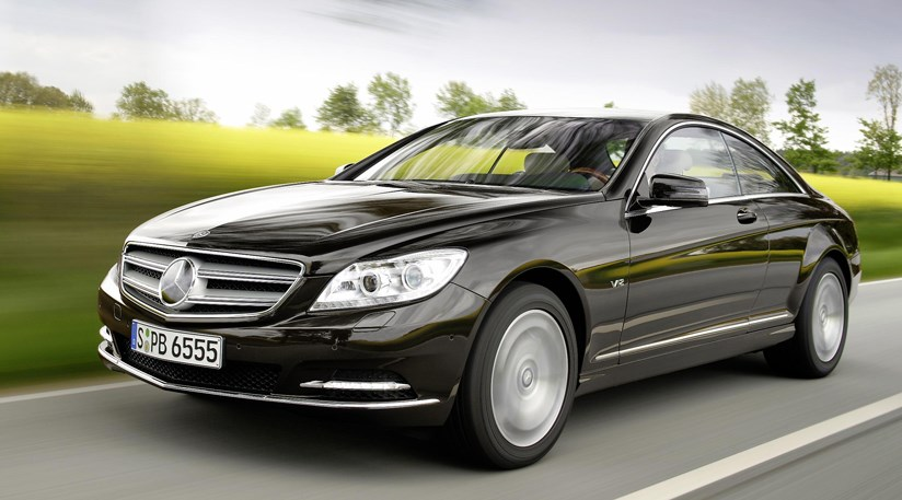 Mercedes Cl 2010 Facelift Reprofiled Lights And Grille Are The Gest External Changes