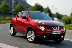 The new Nissan Juke crossover, on sale in the UK in September 2010