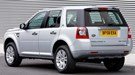 The outgoing Land Rover Freelander 2, with the narrower rear styling bar around the boot release
