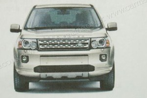 The new 2011 model year Land Rover Freelander – leaked in a brochure blunder