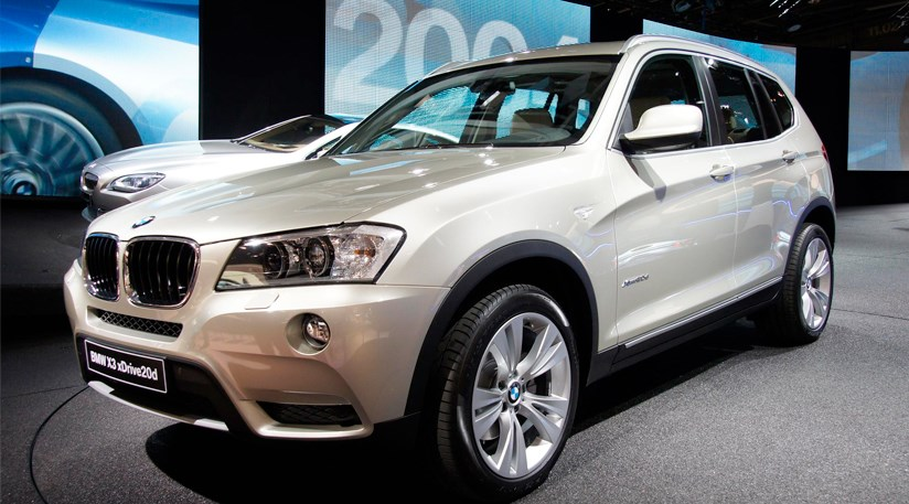 Bmw X3 2010 First Official Pictures Of The Baby X5