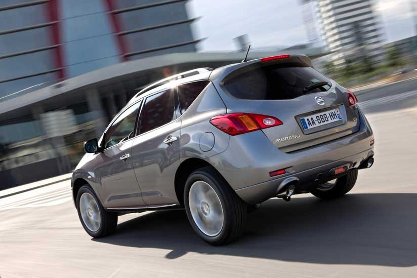 Rear Of Nissan Murano (2010) Less Ugly Than The Front ...